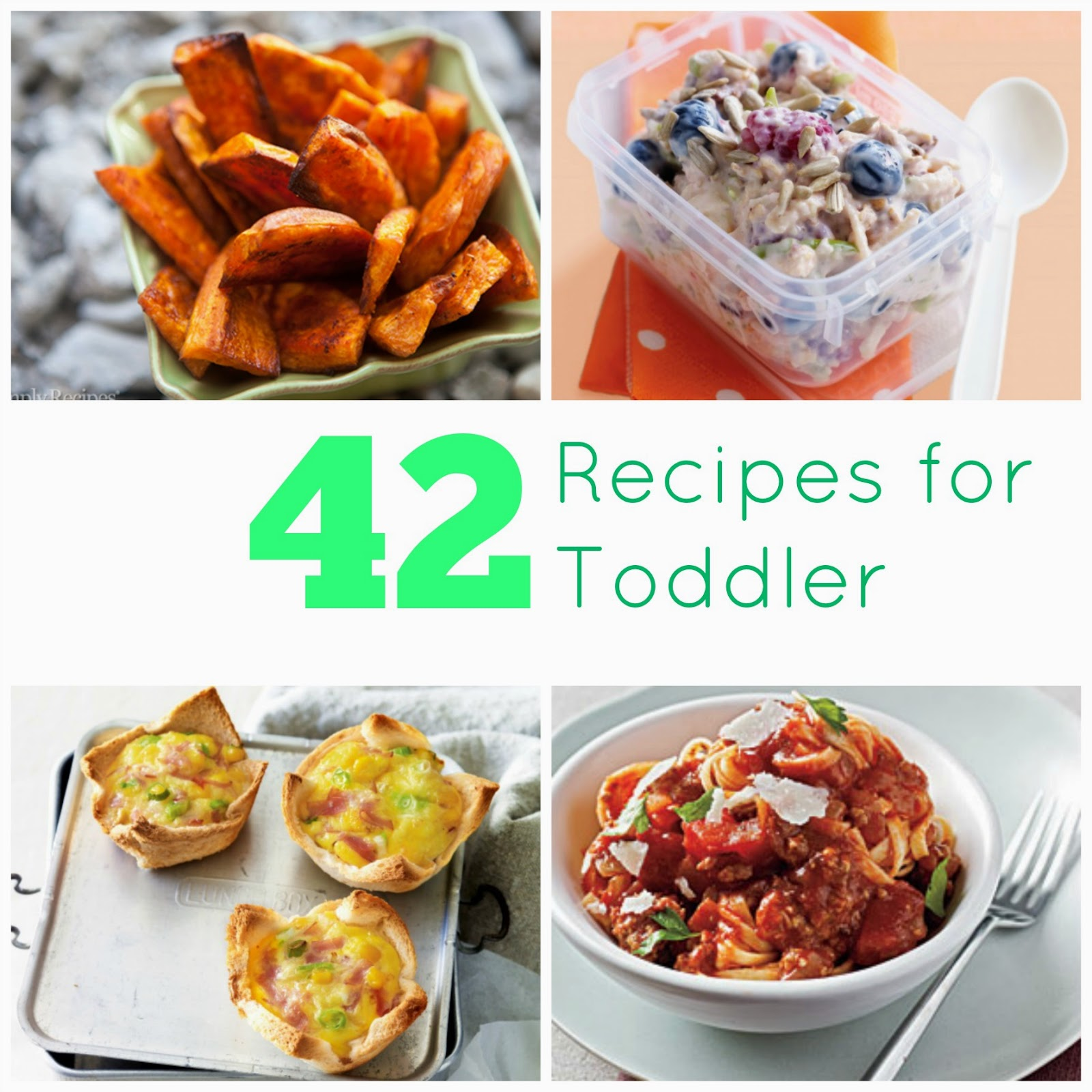 42 recipes for toddler the chill mom ive also included some yummy vegetable recipes and a list of freezer friendly meals that you can make in advance forumfinder Gallery
