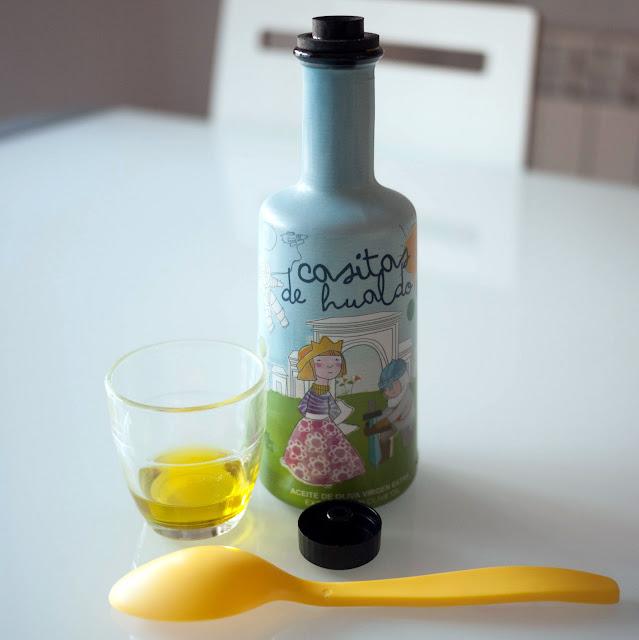 Casitas de Hualdo, aceite de oliva virgen extra para niños y bebés