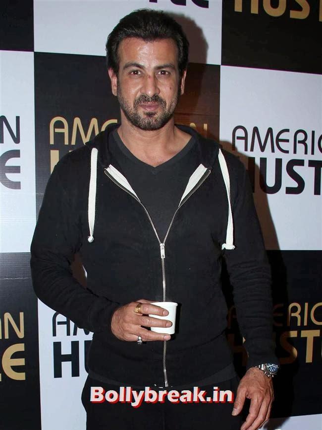 Ronit Roy, Huma Qureshi Anurag Kashyap at American Hustle Special Screening