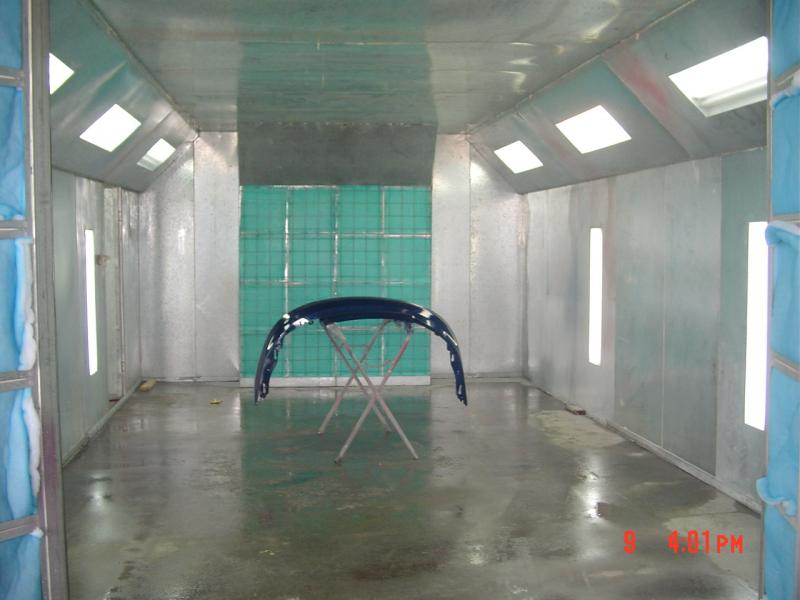 Spray Paint Booth Home