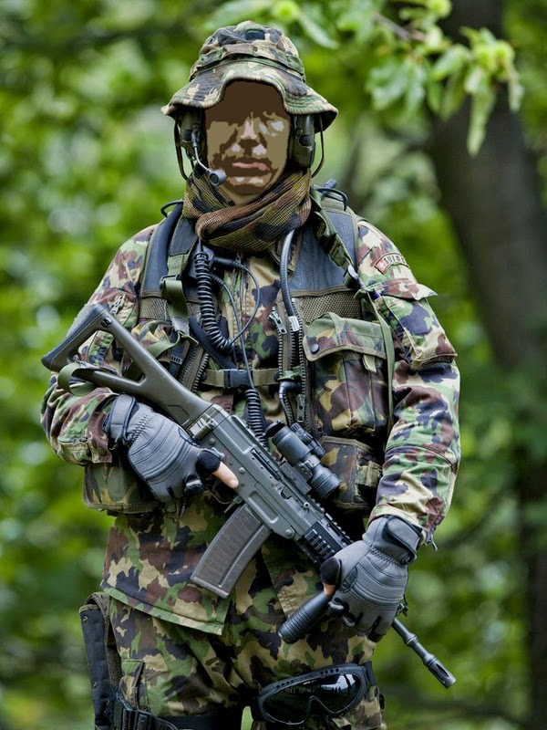 Swiss Special Forces Soldiers From Armee