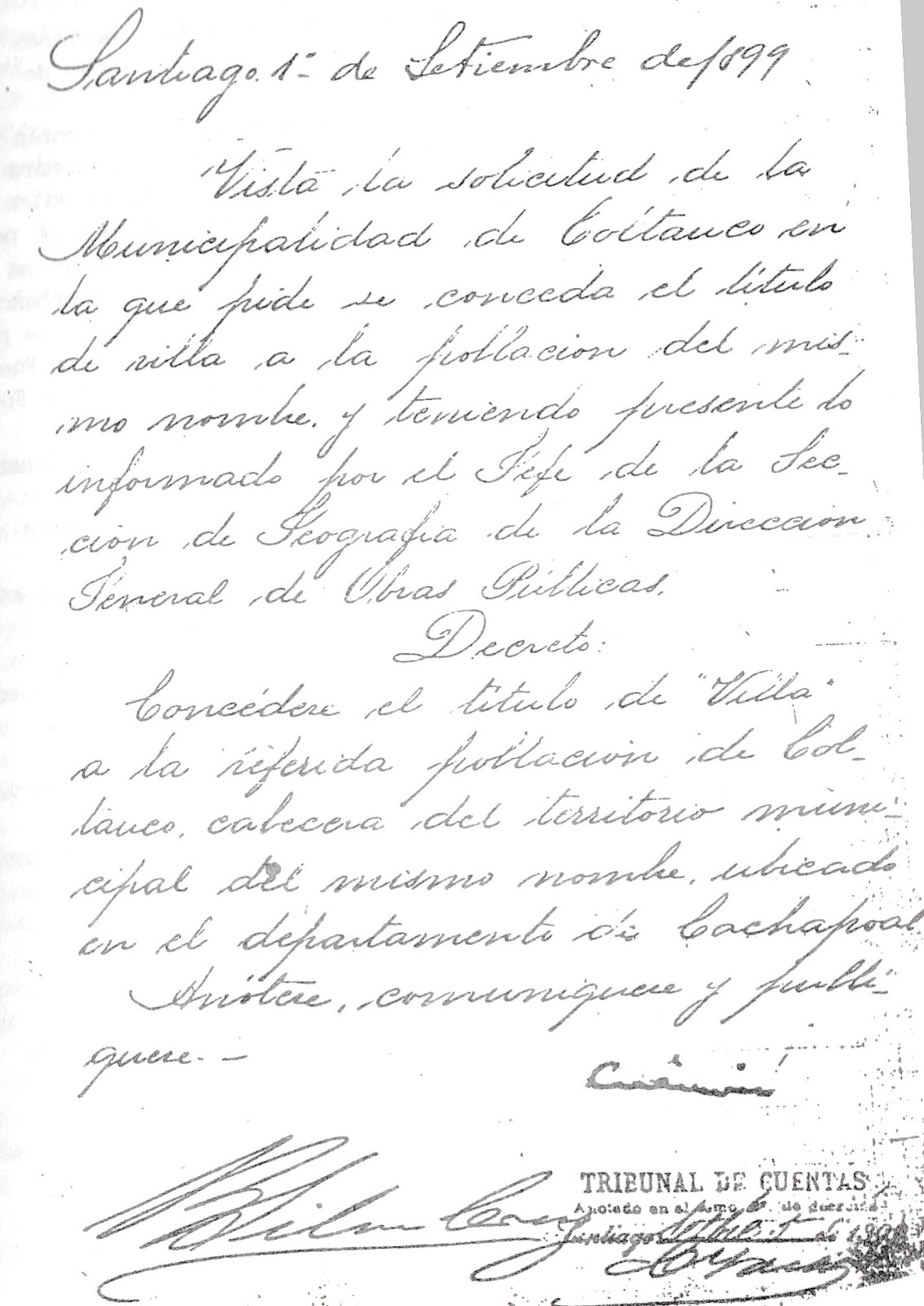 Historia de coltauco 2017 for Decreto ministerio del interior