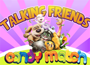Talking Friends Candy Match