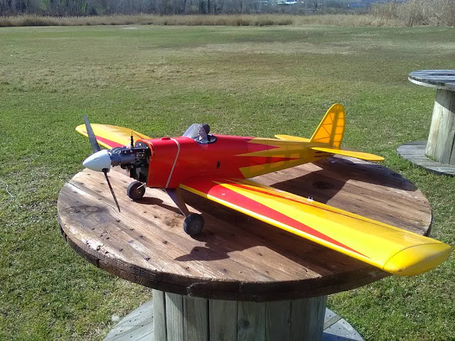 Galleria dello Spacewalker rc prodotto dalla Great Planes classe .60 four stroke