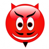 Red Devil Smileys