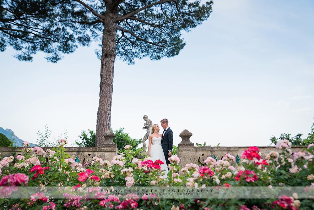June wedding at Villa Cimbrone in Ravello