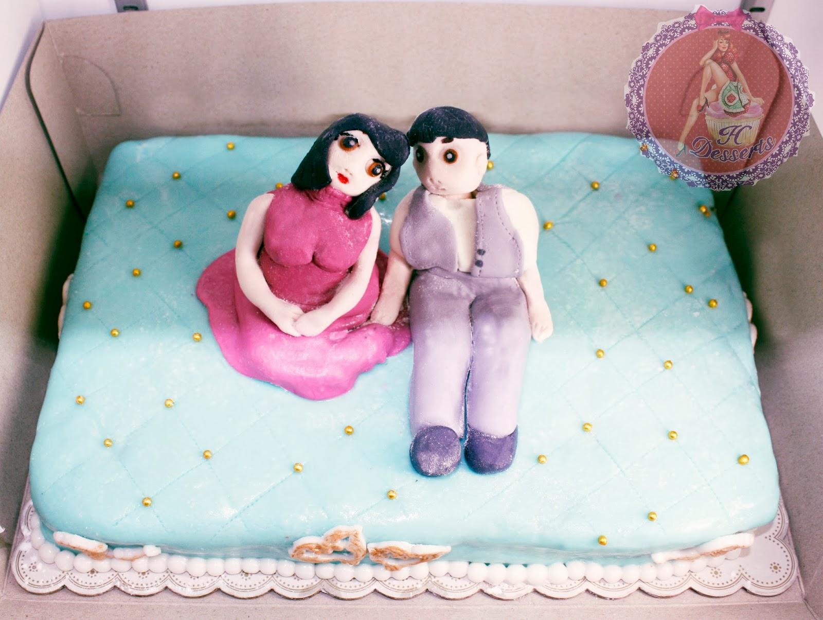 31 Wedding Anniversary Gift: H Desserts: Birthday/31st Wedding Anniversary Cake