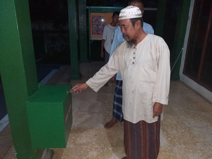 Kotak Amal Masjid Al-Magfiroh Dua Kali Dibobol Maling