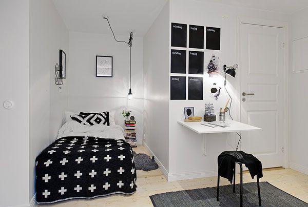 صور] 45 فكرة غرف نوم صغيرة لجعلها تبدو اكبر | ديكور بلس