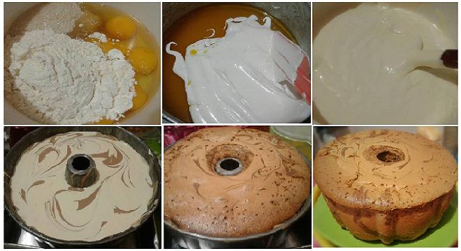 Resep Cake Tape Jadul: Resep Membuat Marmer Cake Jadul Yang Empuk, Lembut Dan