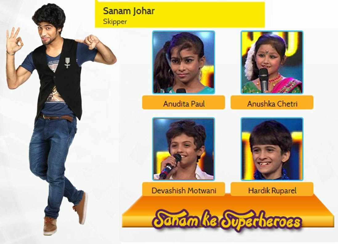 Skipper Sanam Ke Superheroes in DID Little Masters 2014