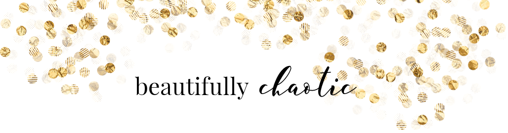 Beautifully Chaotic - Blog design & Graphics
