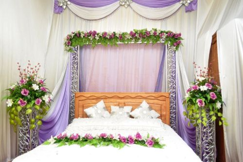 35 dekorasi kamar pengantin terbaru minimalis modern yang romantis