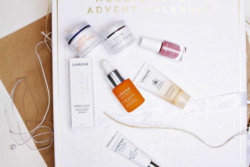 kalendarze adwentowe z kosmetykami lumene