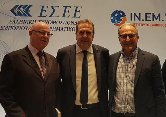 Ο Πρόεδρος του Εμπορικού Συλλόγου Ναυπλίου στην Ετήσια Έκθεση Ελληνικού Εμπορίου