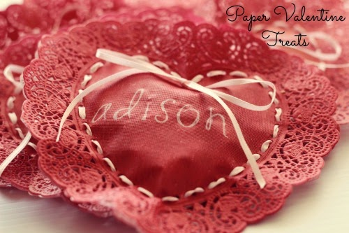 Paper Heart - Simple Craft for Valentine's Day #Valentine #Papercraft