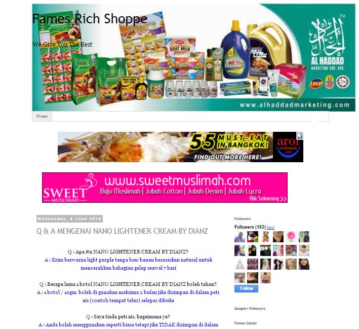 Full Edit Blog Untuk Sis Farhana