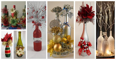 botellas-navideñas-decoradas
