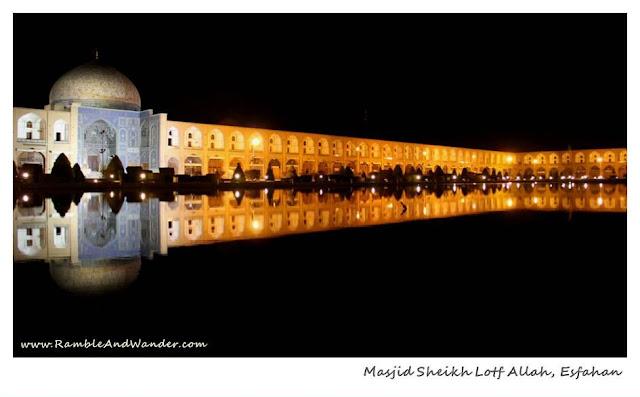 Iran: Imam Square (Naqsh-e Jahan Square), Esfahan - Ramble and Wander