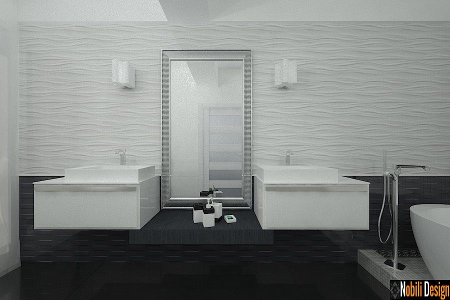 Design Interior - Arhitect Constanta / Design interior baie moderna casa Constanta