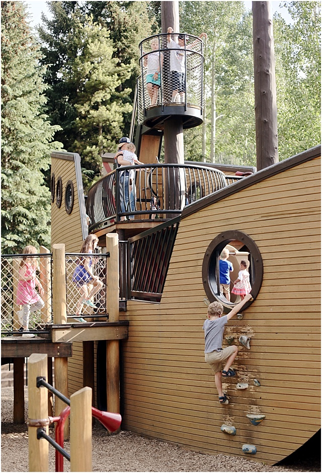 Vail Village Pirate Ship Playground