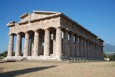 templo de poseidón en Paestum