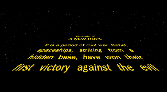 star wars opening crawl - photo #42
