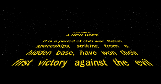 The Opening Crawl Text Of Every Star Wars Crawl Inc The Rise Of Skywalker In A Far Away Galaxy Meta Charset Utf 8