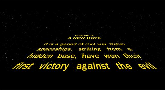 star wars crawl text