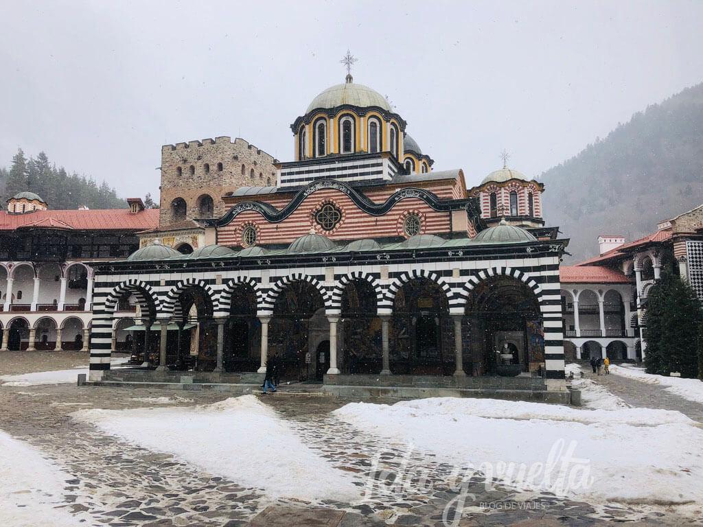 Monasterio de Rila, iglesia