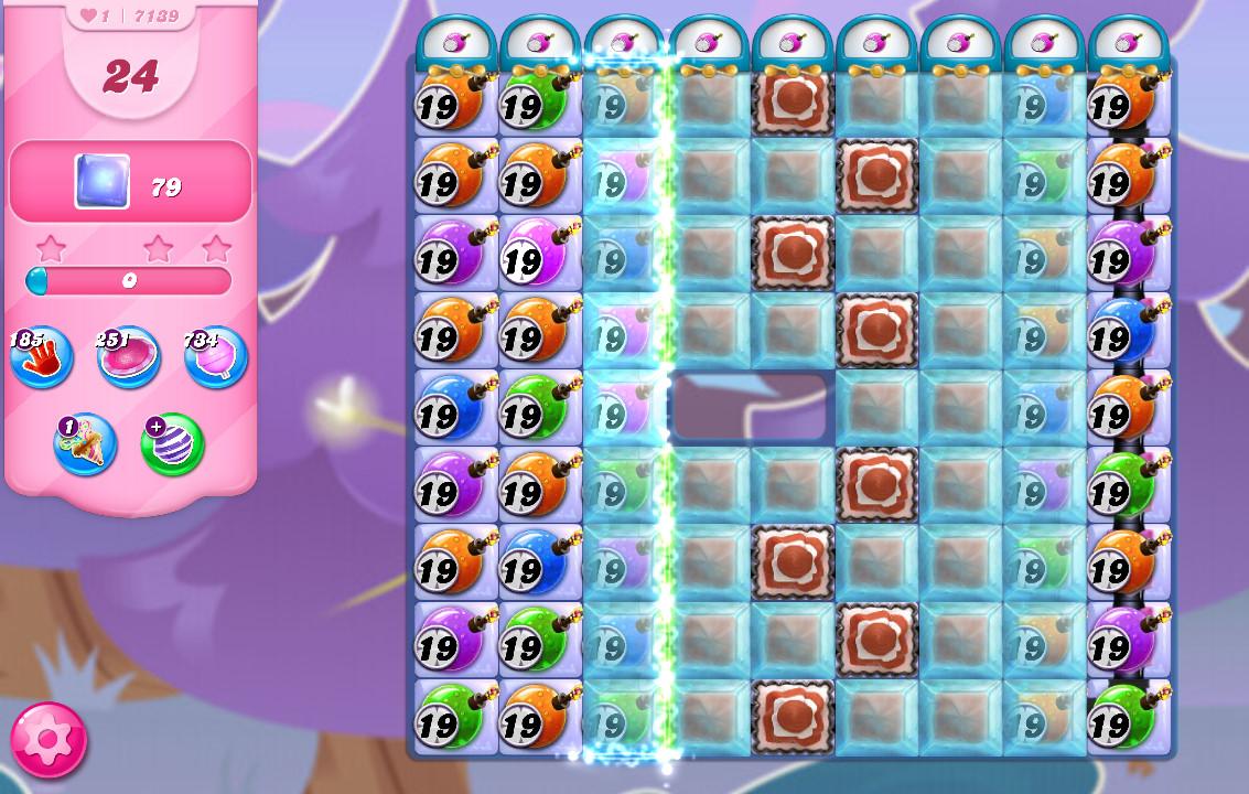 Candy Crush Saga level 7139