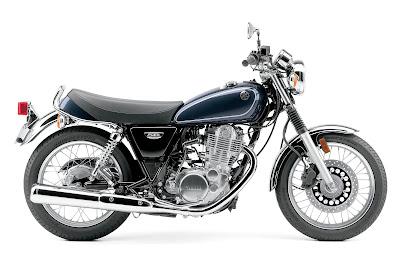2016 Yamaha SR400 blue 01