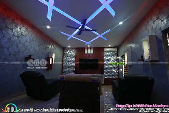 Home theater interior 2019