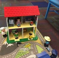 Dollhouse and family Kensington's children's room