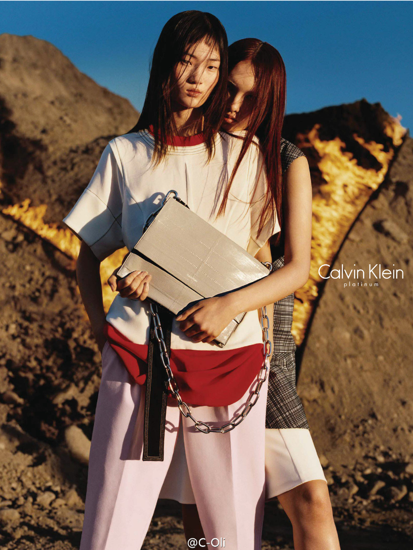 Yuan Bo Chao & Hyun Ji Shin for Calvin Klein Platinum Label Spring/Summer 2016 Campaign