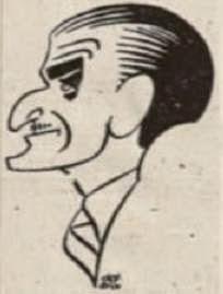 Caricatura del Dr. Monistrol