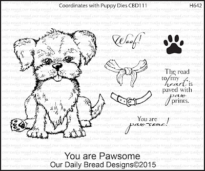 Our Daily Bread Designs Stamp set: You are Pawsome