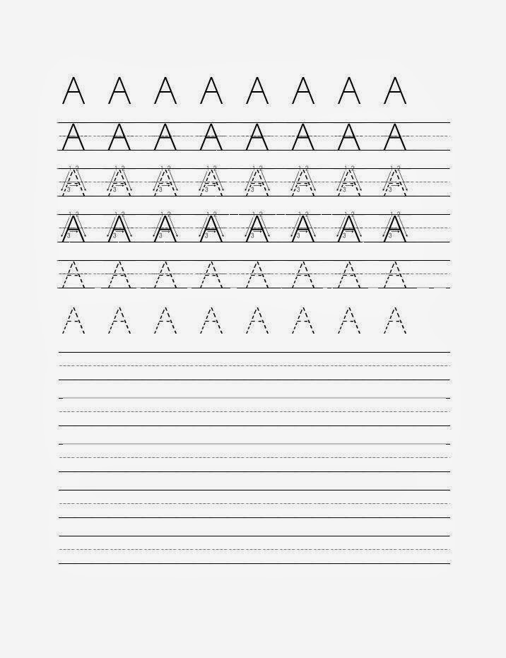 Kindergarten Handwriting Worksheet Maker - letter b ...