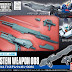 Builders Parts 1/144 System Weapon 008: Hyper Mega Launcher, Rifle and Spray Guns - Release Info