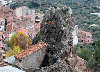 Vistas desde el castillo de Yedra
