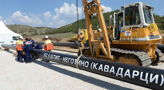 Macedonia starts construction of 16 mln euro Shtip-Negotino gas pipeline