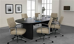 Modern Racetrack Conference Table