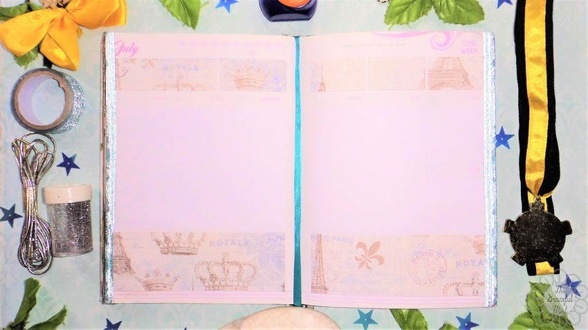 8 Weekly Planner Spreads | Ideas for the 2017 and 2018 Belle De Jour Power Planner (#BeforethePen) | Royalty in Blue Theme | by +The Graceful Mist (www.TheGracefulMist.com) - Beauty, Books, Fashion, Health, Lifestyle, Style, and Travel Blog/Website by Filipino - Filipina Blogger/Freelance Writer - @TheGracefulMist - Social Media Influencer - 2016 - 2017 - 2018 Belle De Jour Power Planner - Viviamo Inc. - Quezon City Philippines