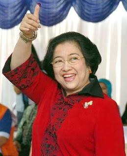 megawati sukarnoputri presiden kenlima dari partai PDI-P