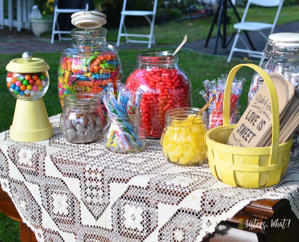 Make an easy DIY gumball machine for a party or home decor!!
