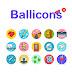 Ballicons Free Flat Icons Set (Ai)