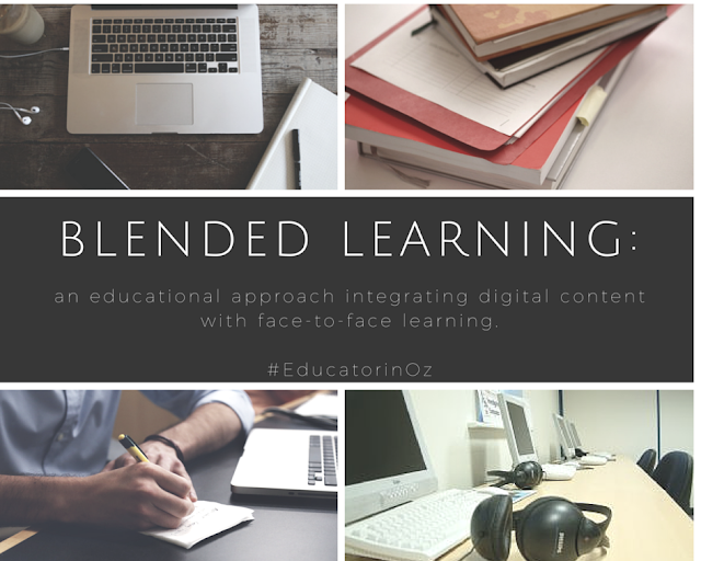Blended Learning: integrating digital content with face-to-face learning.