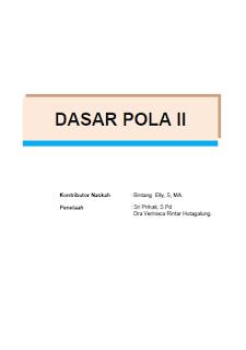 Download Ebook Dasar Pola II SMK Kelas 10 Kurikulum 2013 .PDF