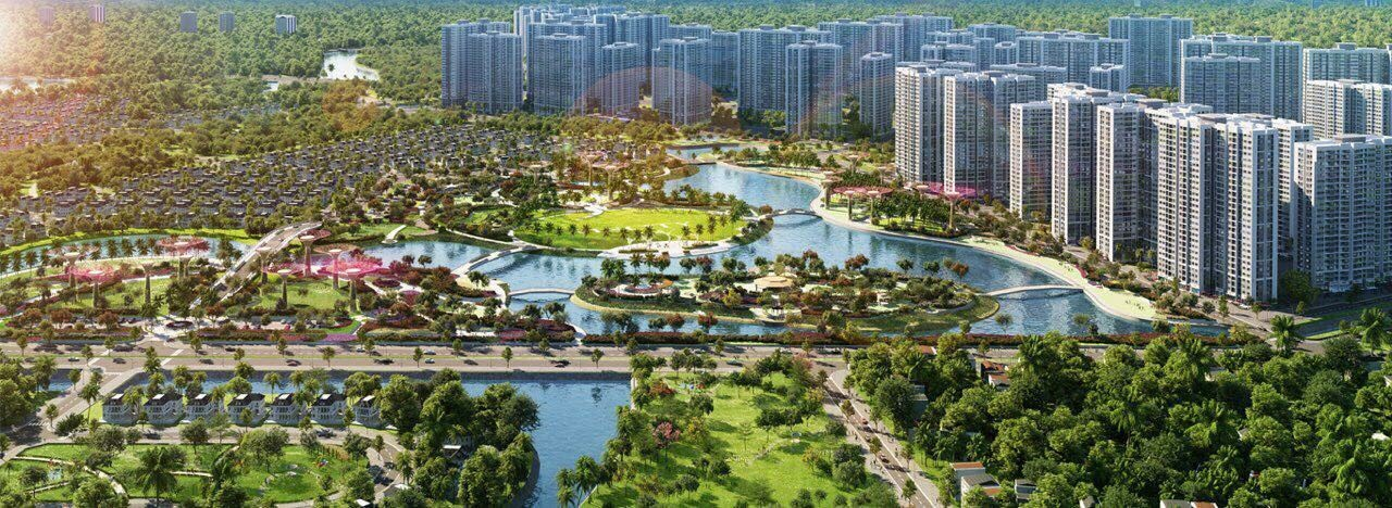 Phối cảnh khu công viên Vincity New Saigon