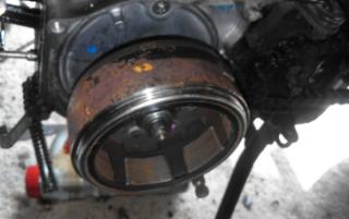 Gambar flywheel motor